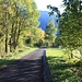 Il tratto asfaltato tra Chironico e Valle