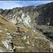 Aufstieg zur Cadlimohütte auf dem alten (und nicht mehr markierten Weg).