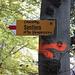 """<b> Dopo 400 m, a 860 m di quota, converge nel sentiero che salendo da Rovio porta in zona """"Crocette"""". Questo itinerario è anche denominato """"Via delle Pianche"""".</b>"""