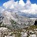 Hinten die Sulzfluh, das eigentliche Gipfelziel