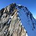 Letzte Scharte und Gipfelgrat vom Vorgipfel