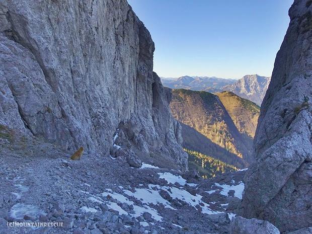 Abstieg zur Leobnerhütte