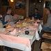 Unser erstes Abendessen im Piemont - eine Wucht