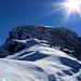 Traumhafte Verhältnisse am Gipfel lassen Tagträume an die nächste Skitourensaison zu.