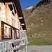 Die Alp Ober Wend mit erreichtem Tagesziel im Hintergrund.