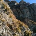 Sentiero verso la Capanna Meriggetto.