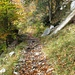 Gut ausgebauter Bergweg