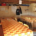 la capanna principale: locale refrettorio e sopra vi sono 4 posti letto