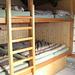 il dormitorio,situato in altra struttura
