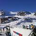 Bergstation Gletscherexpress