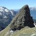 il Corno Dombastone, visto da E. Ben visibile la cresta di accesso alla vetta.