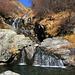 Eccoci all'attraversamento del Rio di Giumaglio: un vero paradiso.