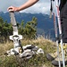 Miniatur-Gipfelkreuz am Lausberg (1855 m)