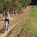 Biken macht Spass, sanfte Anstiege, moderate aber rasante Abfahrten