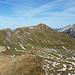 Gipfelgrat, Blick nach Norden zum Biet