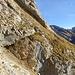 Zustieg unter die Steckenberg Südflanke