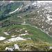 Auf dem Gipfel, Blick zum Gross Gade, Ausgangspunkt dieser Tour.