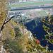 Val Lodrino - Tiefblick auf den Flugplatz von Lodrino