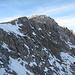 Blick in die noch steiler abfallende Ostflanke