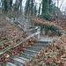 Diese Treppen kann man rauf oder runtergehen. Wir sind raufgegangen.