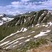 """Cheget - Ausblick am Gipfel des """"Kleinen Cheget"""" in etwa südwestliche Richtung."""