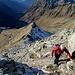 JP im steilen Aufstieg zum Tällispitz