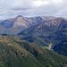 Blick ins Val d'Isone mit dem Dorf Medeglia
