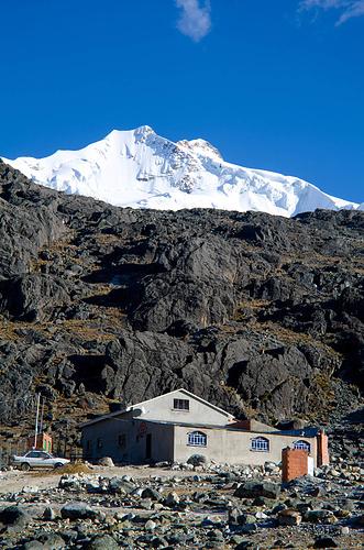Casa Blanca am Zongo-Pass