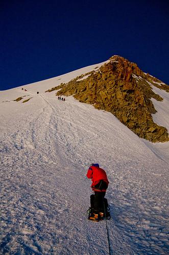 Der finale Gipfelanstieg