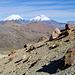 Immer wieder die Twins im Blick - Parinacota und Pomerape