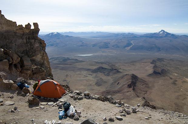 Das Highcamp auf 5700m