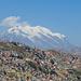 La Paz mit Illimani - was für ein Hausberg!