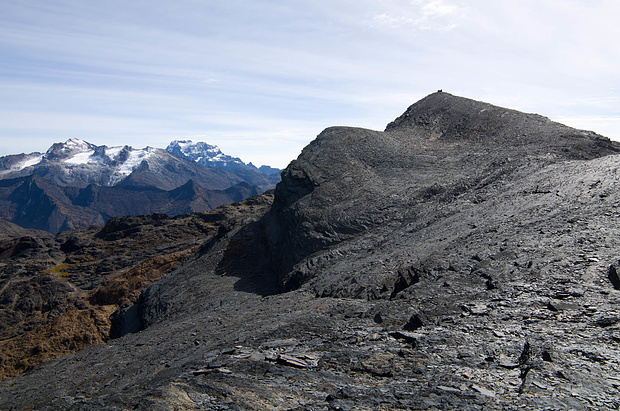 Blick auf den Cerro Kolini