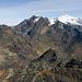 Blick vom Cerro Kolini. Links der Cerro Saturno (völlig unscheinbar)