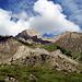 Le massif du Lohner vu d'en bas