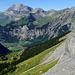 En-dessus de Gropeni où il faut franchir un passage rocheux