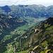 Vue sur la Kandertal et la chaîne du Niesen