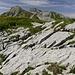 Schöne Kalkplatten, wir sind am Steinernen Meer