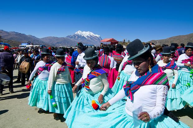 Wintersonnenwendfest der Aymari