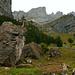 Kletterblöcke gegenüber Dörfli Urnerboden