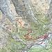 Von Lavin zur Chamanna dal Linard. Tour: 5,6 km HM 977 auf und 88 ab