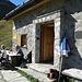 Um 16 Uhr waren wir auf der hübschen kleinen Hütte angekommen