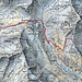 Fünfter Tag: <br />Von der Chna. dal Linard zum Fuorcla da Glims, weiter zum Vereinapass und Berghaus Vereina dann weiter bis nach Klosters Platz