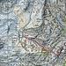 """Zweiter Tag:  Zermatt Bahnhof die Hauptgasse hoch. Bei den Restaurants """" Gee's Brasserie"""" und """"Grampi's"""" die Gasse hoch durchs Quartier. Hoch zum Pk.1961 ( Alterhaupt) zum Hotel du Trift.<br />Tour: 3,5 km, 788 HM auf und 60 HM ab"""