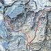 Dritter Tag: Hotel du Trift zum Pk.2453 Hoch zum Triftschumme Pk. 2938, weiter zum Furggji über den Gletscherfirn zum Mettelhorn. Zürück zum Pk.2453 hinauf zur Rothornhütte.<br />Tour: 15 km mit 1850 HM auf und 1850 HM ab