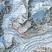 Fünfter Tag: Schönbielhütte zu Pk. 2823 Bergji hinauf zum Pk. 3052 und wieder retour zur Hütte.<br />Tour: 3,7 km, 446 HM auf und 446 HM ab