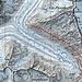 Erster Tag:  Pk.2164 über Brücke zum Pk.2228 dem Hüttenweg folgend zur Oberaletschhütte. <br />Tour: 14 km, 1700 HM auf und 100 HM ab<br />