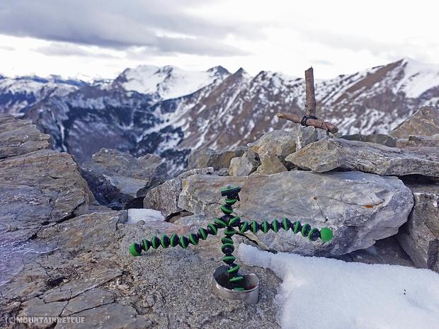 ...und es gibt sie doch, die Gipfelkreuze auf der Hohen Zölz