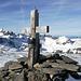 Das Gipfelkreuz.