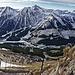 Tiefblick zur Präbichl Passhöhe